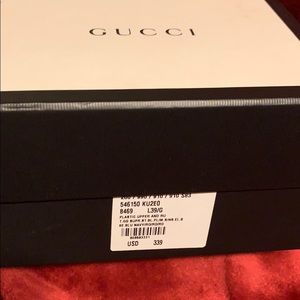 Gucci sneakers!!